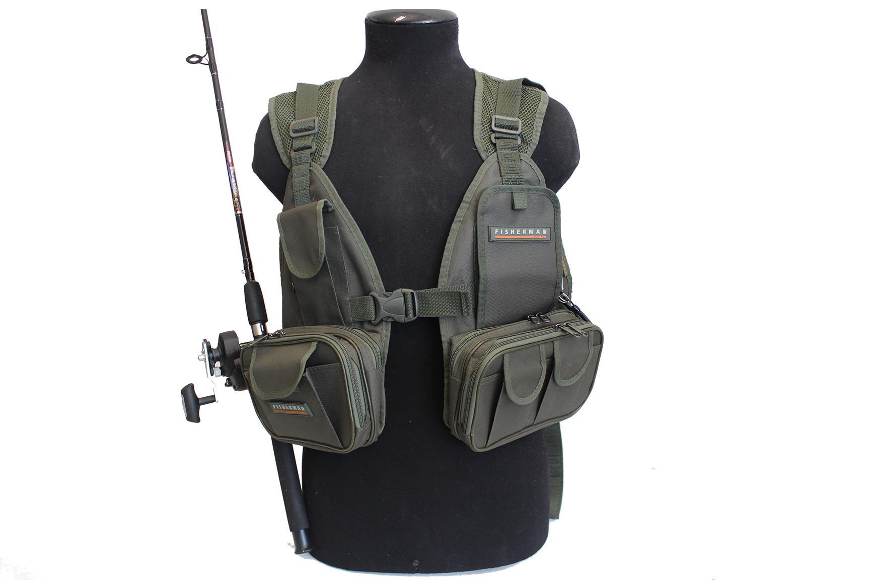 Рюкзак-разгрузка fishing vest купить рюкзаки фасоны