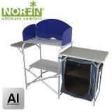 Стол-кухня кемпинговая складная NORFIN KVENNA - миниатюра
