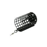 Кормушка фидерная Wirek, круглая с дном, d 32 мм, длина 51 мм, вес 5-60 г - миниатюра