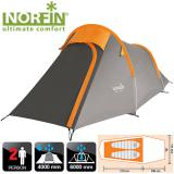 Палатка треккинговая 2-х местная NORFIN ROXEN 2 ALU - миниатюра