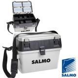 Ящик рыболовный зимний Salmo 2-х ярусный пластиковый  - миниатюра