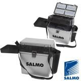 Ящик рыболовный зимний Salmo 2-х ярусный (5 частей) - миниатюра