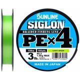 Плетёнка SUNLINE Siglon PE4 150/0.108 (салатовый) - миниатюра