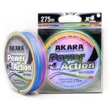 Плетёнка Akara Power Action X-4 275 м Multicolor - миниатюра