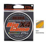 Плетёнка Akara Big Game X-4 275 м Multicolor - миниатюра