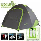 Палатка туристическая треккинговая 2-х местная NORFIN SMELT 2 ALU - миниатюра