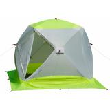 Палатка зимняя ЛОТОС КУБ 3 Компакт ЭКО - миниатюра