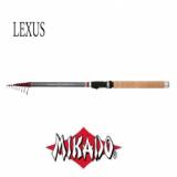 Удилище Mikado LX (LEXUS) TELE MATCH 4.0 м, тест до 25 г - миниатюра