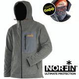 Куртка флисовая NORFIN ONYX (В подарок БАФФ) - миниатюра
