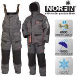 Зимний костюм NORFIN DISCOVERY GRAY - миниатюра