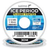 Леска монофильная зимняя SALMO ICE PERIOD FLUORO COATED 30 м  - миниатюра