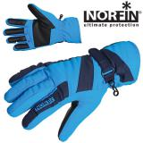 Перчатки женские NORFIN Windstop Blue - миниатюра