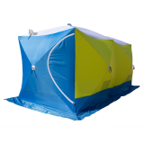 Палатка зимняя СТЭК КУБ 3T Дубль (трехслойная, дышащая) - миниатюра