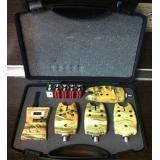 Набор сигнализаторов поклевки 4 шт. с пейджером - миниатюра