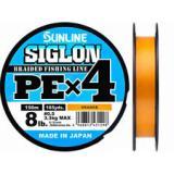 Плетёнка SUNLINE Siglon PE4 150/0.296 (оранжевый) - миниатюра