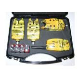 Набор сигнализаторов поклевки 3 шт. с пейджером - миниатюра