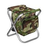Табурет складной  Кедр МАХ средний с сумкой, алюминий - миниатюра