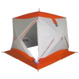 Палатка зимняя ПИНГВИН Призма Премиум Термолайт (трёхслойная) - миниатюра