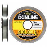 Леска SUNLINE Siglon V 30 м (прозрачный) - миниатюра