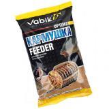 Прикормка Vabik Optima КАРМУШКА Feeder 1 кг (жёлтая) - миниатюра