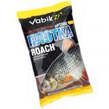 Прикормка Vabik Optima ПЛОТКА Roach1 кг (коричневая) - миниатюра