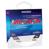 Леска монофильная TEAM SALMO Micron 50/009 (прозрачная) - миниатюра