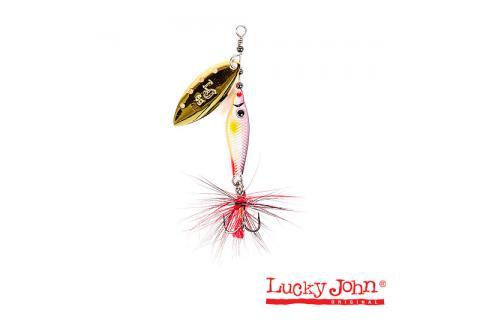 Вращающаяся блесна Lucky John Trian Blade Long LJTBL6-002