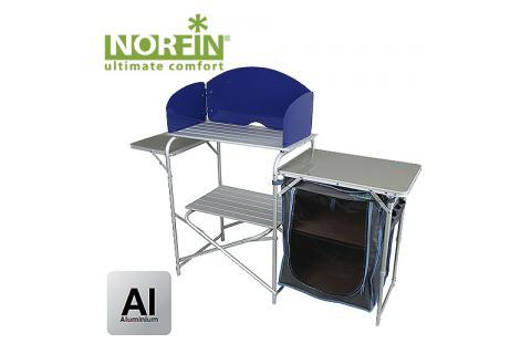 Стол-кухня кемпинговая складная NORFIN KVENNA