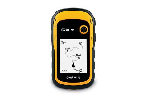 Туристический навигатор Garmin eTrex 10 (Общемировой)