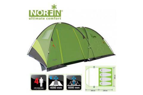 Палатка кемпинговая 4-х местная NORFIN POLLAN 4