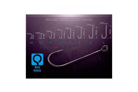 Офсетный крючок Crazy Fish Round Bent Joint Hook RBJH-12