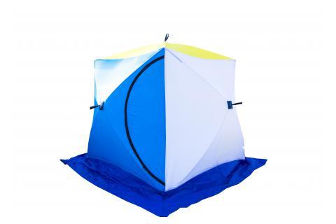 Палатка зимняя СТЭК КУБ 2 (трехслойная, дышащая)