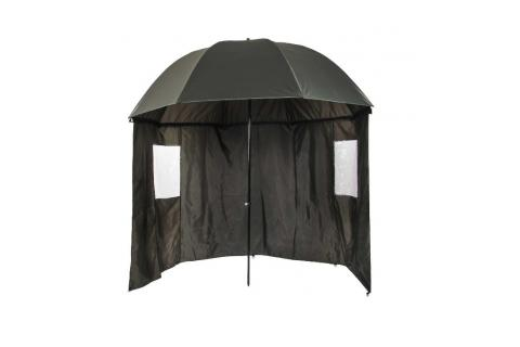 Зонт рыболовный с тентом NISUS (диаметр купола 240 см)