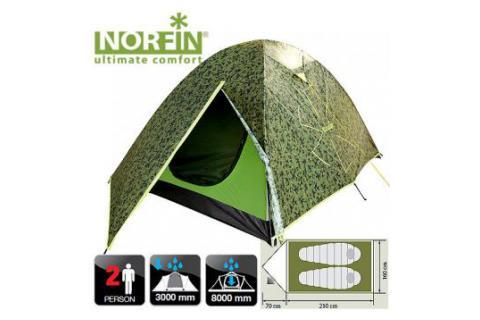 Палатка 2-х местная NORFIN COD 2