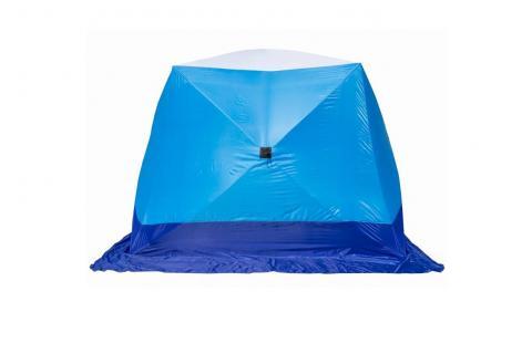 Палатка зимняя СТЭК КУБ 2 Long (трехслойная)