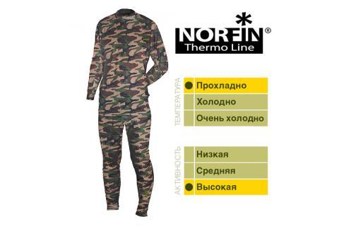 Мужской комплект термобелья NORFIN THERMO LINE CAMO