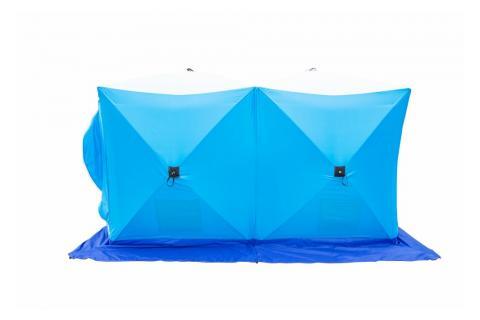 Палатка зимняя СТЭК КУБ 3 Дубль (трехслойная, дышащая)