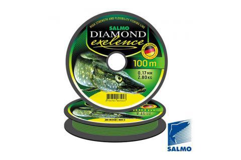 Леска монофильная Salmo DIAMOND EXELENCE 150/030 (светло-зелёная)