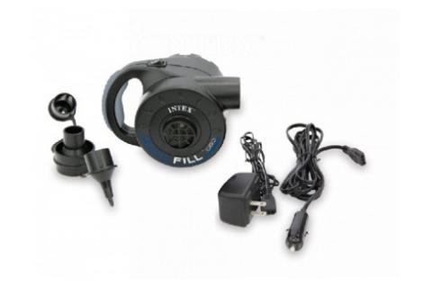 Электрический насос INTEX с аккумулятором 12/220 В