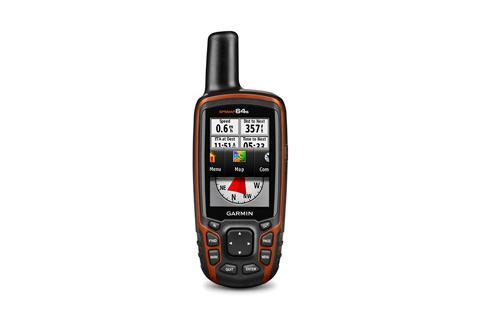 Туристический навигатор Garmin GPSMAP 64s (Общемировой)