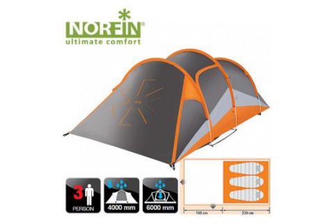 Палатка алюминиевая дуги 3-х местная NORFIN HELIN 3 ALU