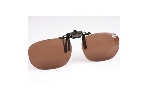 Поляризационная накладка на очки MIKADO (цвет линз коричневый)