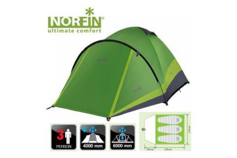 Палатка треккинговая 3-х местная NORFIN PERCH 3