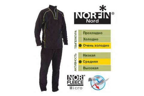 Микрофлисовый комплект термобелья NORFIN NORD