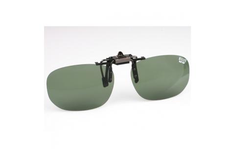 Поляризационная накладка на очки MIKADO (цвет линз зеленый)