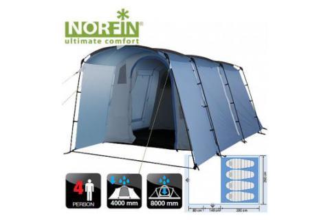Палатка кемпинговая 4-х местная NORFIN MALMO 4