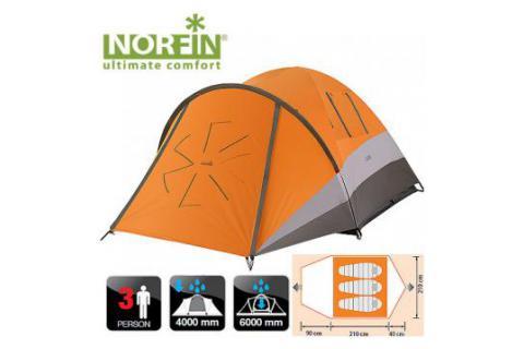 Палатка 3-х местная NORFIN DELLEN 3