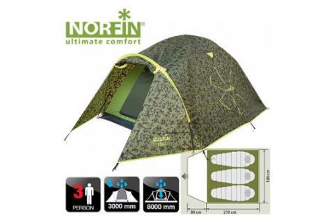 Палатка 3-х местная NORFIN ZIEGE 3
