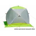 Палатка зимняя ЛОТОС КУБ 3 Компакт ЭКО - ракурс 1